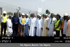 Group Picture with the Minister, other Reps from the Federal Ministry of Environment, REA and the University