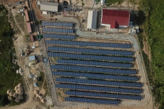 Installation-PV-modules-completed