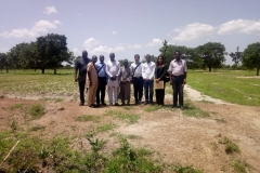Project Team Members from REA, NUC, SWNL and the University at the Project Site