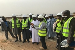 Site tour (led by the REA Site Engr.) by the Minister, REA Reps. and other Reps