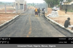 Ongoing works for Access Roads to site