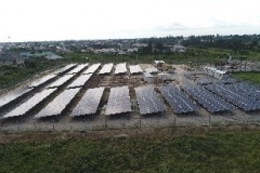 Ongoing PV Modules installations