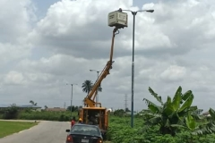 Ongoing Street Lighting works