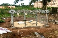 Construction of Security Fence for RMU