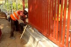 Access Gate Installation