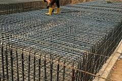 Gas genset foundation Reinforcement