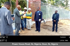 Obafemi Awolowo University, Ile-Ife - The Vice Chancellor's Visit to Site