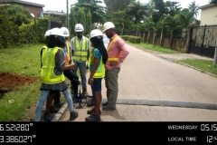 Training on to use a road_wheel meter