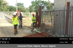 Training on installation of the WTC electric powered gate