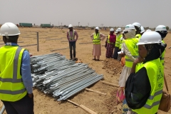 9. METKA_s site manager showing the students a component part of the MMS