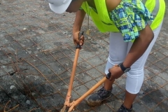 Cutting-of-Steel-Reinforcement-for-WTC-Foundation-at-NAU