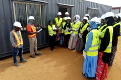 EPCC HSE Official addressing the Students before site tour(UDUS)