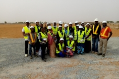Group Picture after site tour. (UDUS)