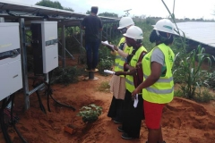 UDUS-STEM-Students-being-taught-the-basic-functions-of-sub-array-PV-Inverters-and-LV-Panels-Production-Substations.