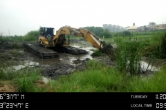Special Swamp Boogie Clearing Water Way for Dredging Activities1