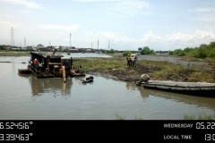 Special Swamp Boogie Clearing Water Way for Dredging