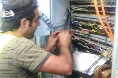 Sorting-and-termination-of-communication-and-control-cables-in-totalizing-panel-1-and-2