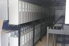 Storage-batteries-installation-in-container-4-ongoing