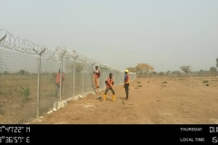 Project Site Fencing Completed