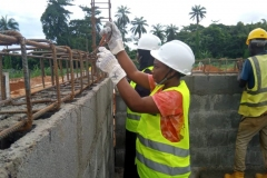 Tightening-of-Reinforcement-for-Transformer-House-at-OAU