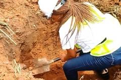 Training on excavation work for street light plinths(1)