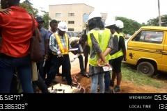 Training on processes involving street light installation