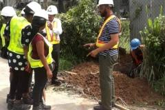 Training on street light installations