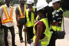 Training on street light installations(3)