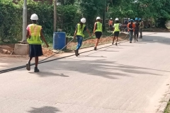 UNILAG-Students-participating-in-the-layering-of-streetlight-cables