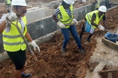 FUAM-STUDENTS-TAKING-ACTIVE-PART-IN-THE-BACKFILLING-OF-THE-CABLE-TRENCH-AREA-BETWEEN-THE-MCR-AND-THE-TRANSFORMER-FOUNDATION
