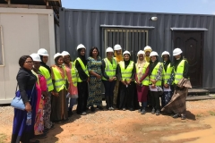 BUK-MD-CEO-and-the-STEM-students-during-her-visit-to-the-site-today