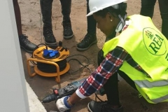 FUPRE-STEM-students-doing-the-drilling-of-the-placement-of-earth-cable-to-the-body-of-the-exeron