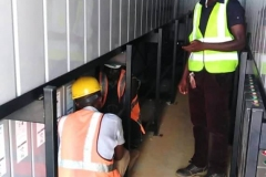 Installation-of-storage-batteries-in-container-2-in-progress